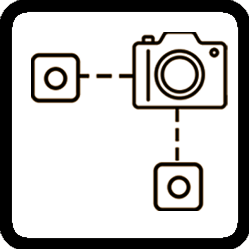three channel icon