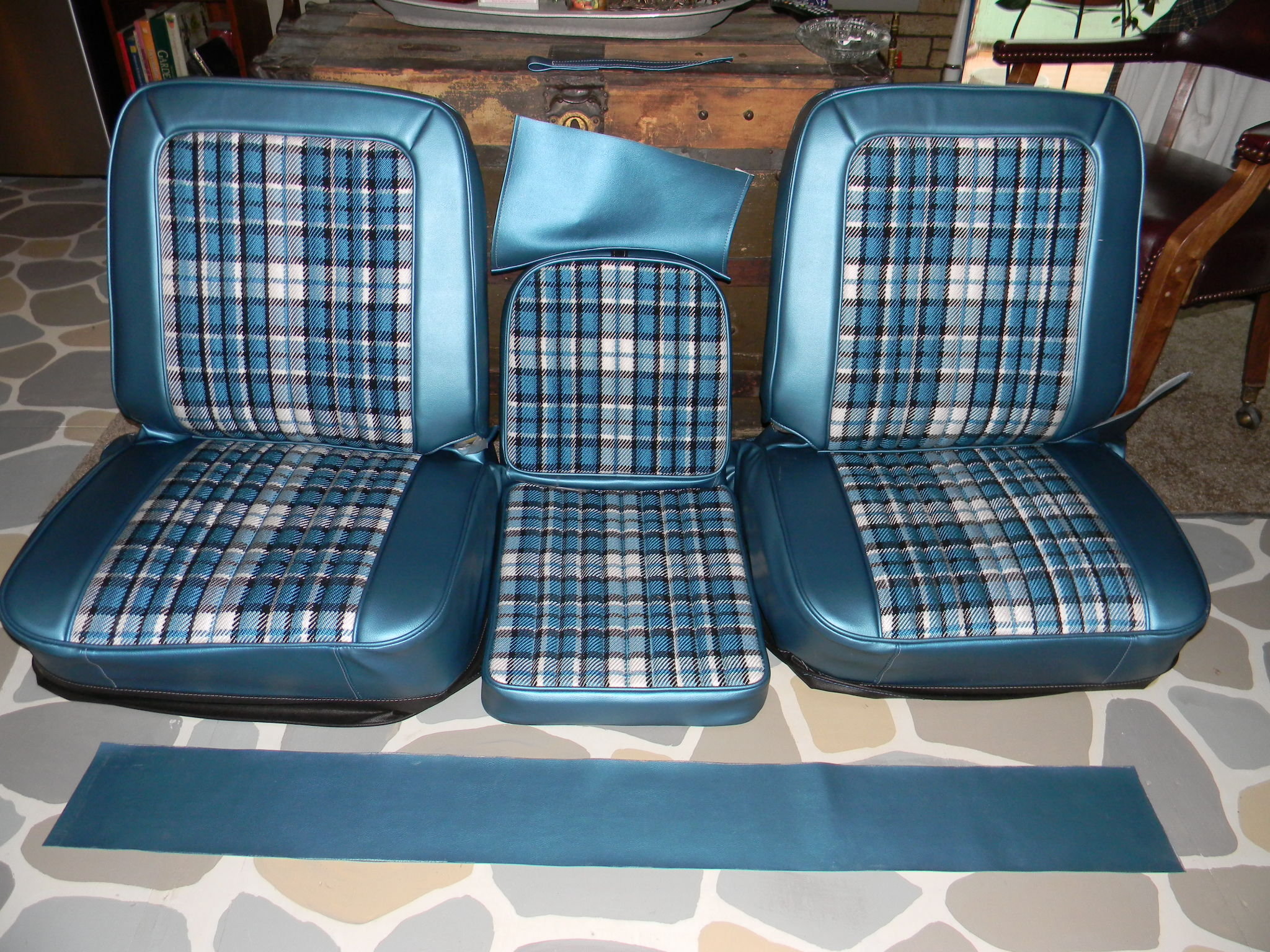 Cloth Bucket Seat Covers