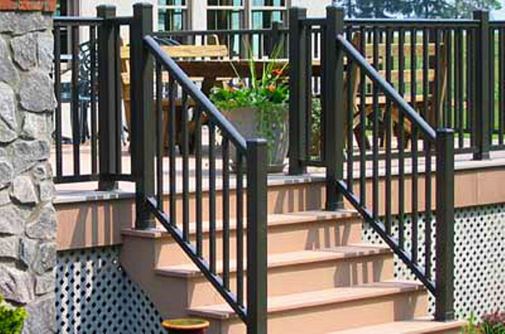 Railings For Outdoor Stairs At Home Depot — Rickyhil   Outdoor Stair Railing Home Depot
