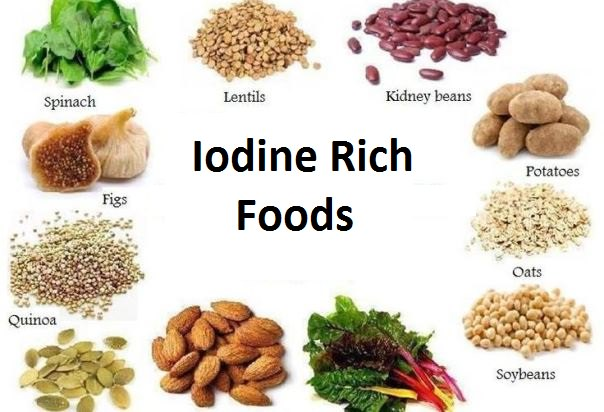 Iodine Rich Foods - Foods High in Iodine