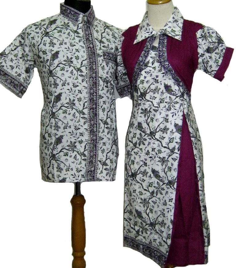 Image Result For Model Baju Gamis Batik Kombinasi Rompi