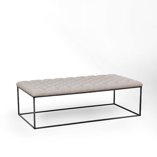 Tufted Ottoman Coffee Table