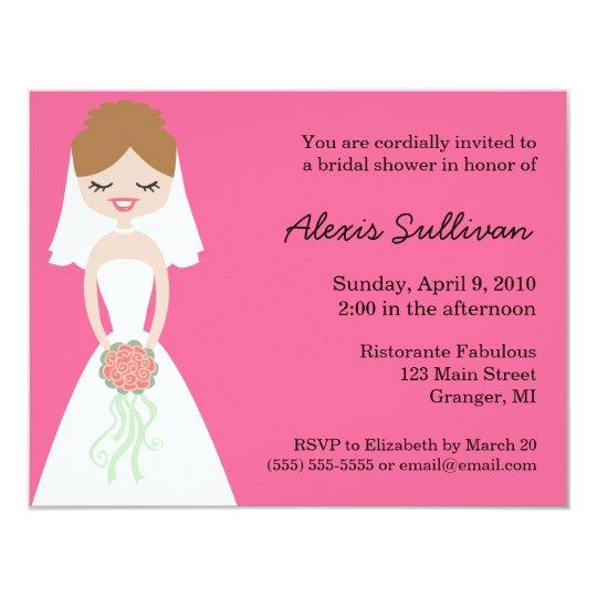 Cute Cheap Bridal Shower Invitations