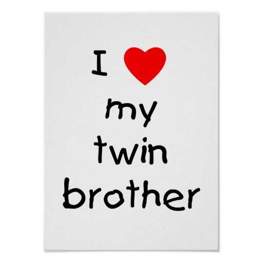 I Love My Twin Brother Quotes