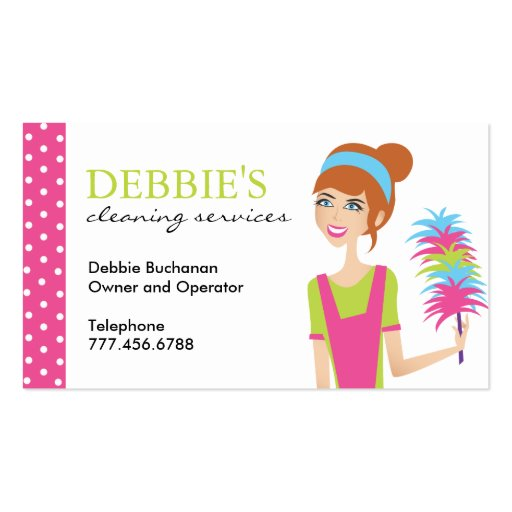 Cleaning business card templates wajeb Images
