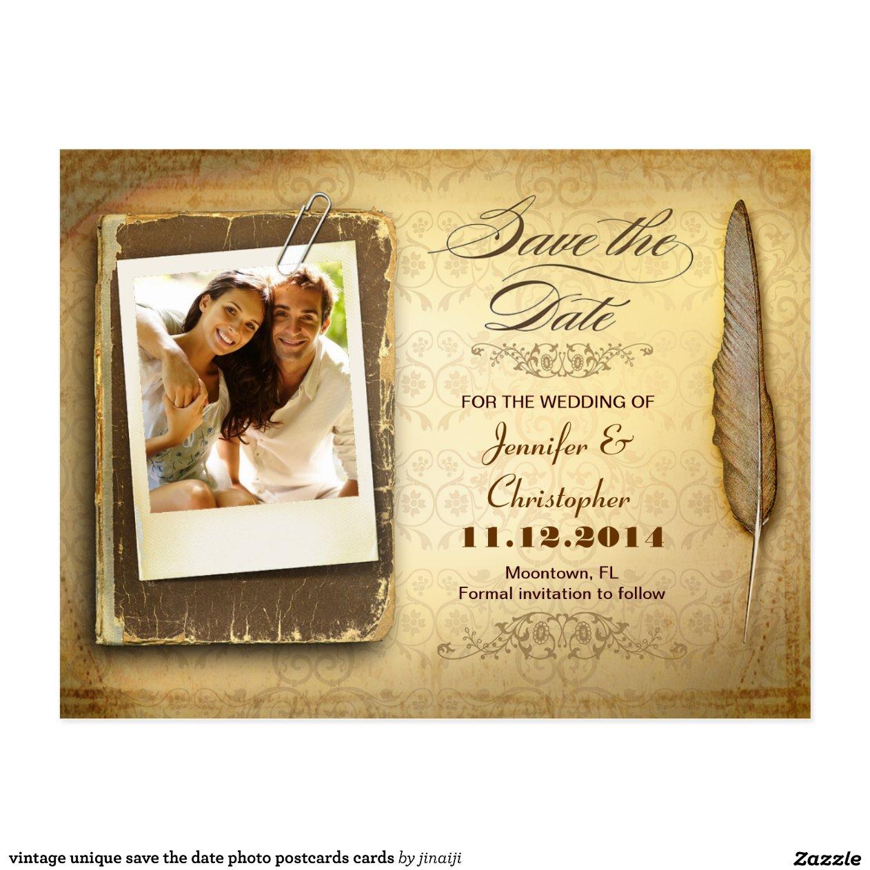 Custom Save Date Cards