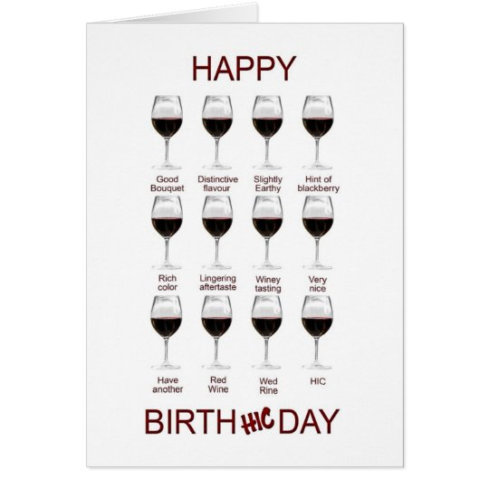 Happy Wine Funny Birthday Quotes