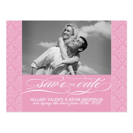 Pretty Save Date Cards