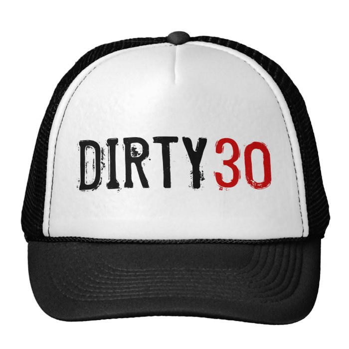 Dirty 30 Invitations Custom