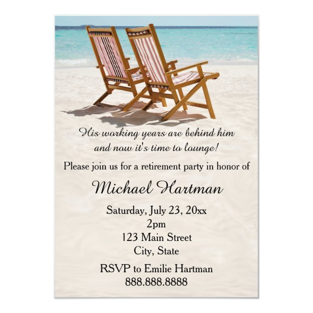 Save Date Cards Beach