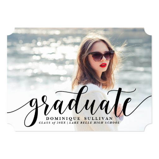Modern Graduation Announcements