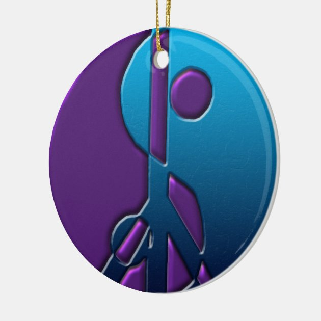 Purple And Blue Bridal Shower Invitations