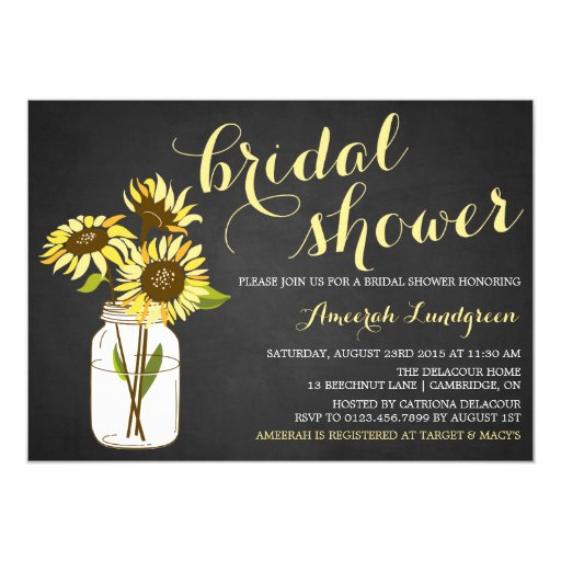 Country Chic Invitations
