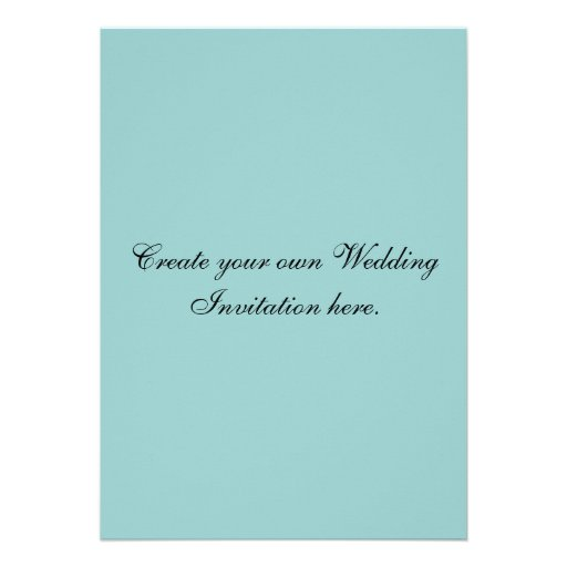 Design Your Own Wedding Invitations Cheap