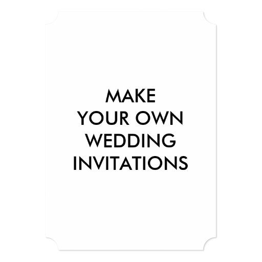 Build Your Own Invitation