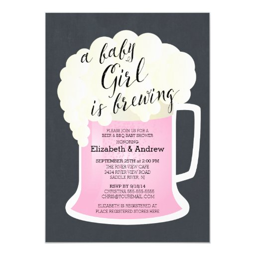Cute Couples Shower Invitations