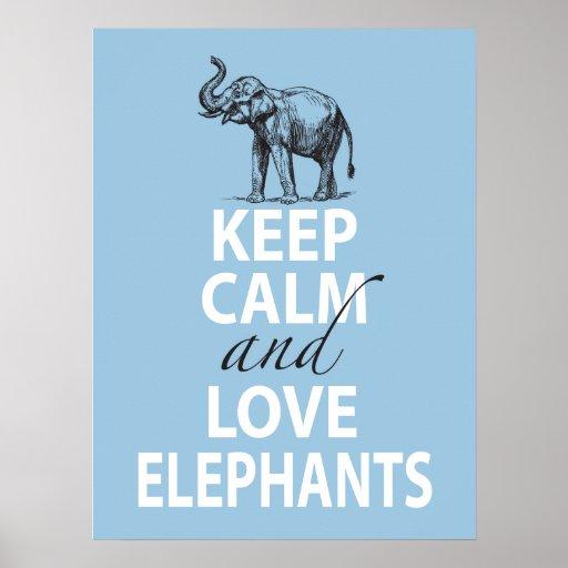 Keep Calm And Go Shopping Blue