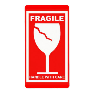 Handle With Care Cards | Zazzle