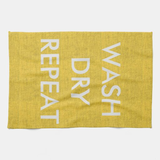 Yellow And Gray Kitchen Towels