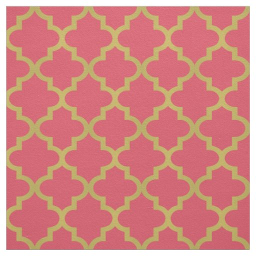 Pink Home Decor Fabric