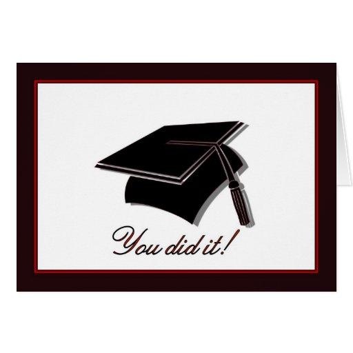 Custom Made Graduation Cards