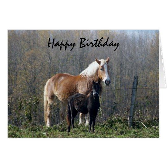 Happy Birthday Cards Horses Them