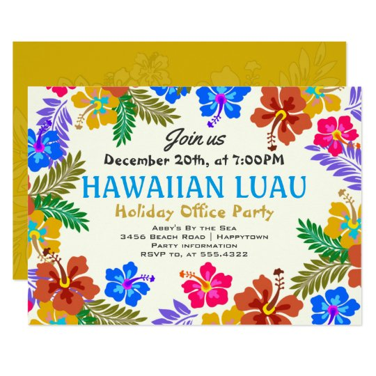 Custom Invitations Hawaii