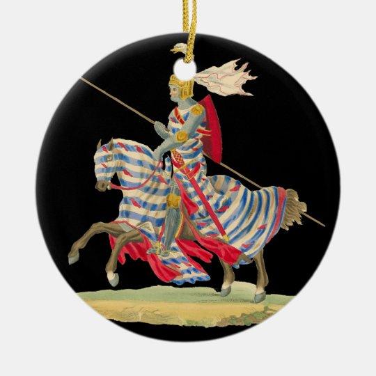Knight in Armor Christmas ornament | Zazzle.com