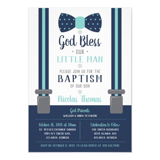 Make Your Own Christening Invitations