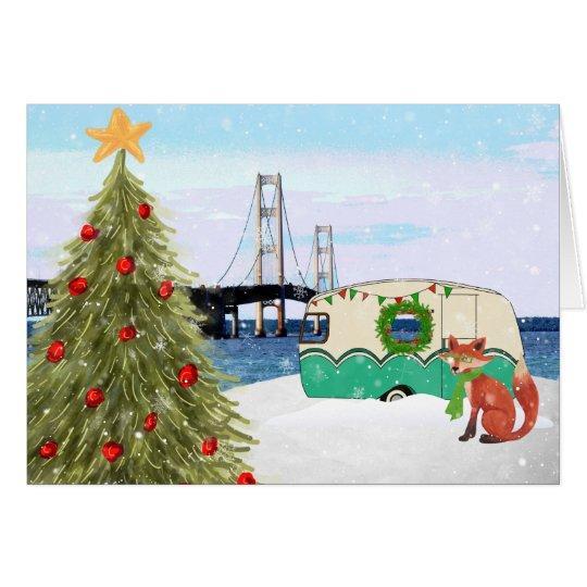 Cards Christmas Country Bridge