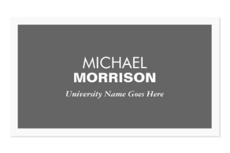 Business card for college student Business Card Templates     MODERN GRAY BUSINESS CARD FOR COLLEGE STUDENTS