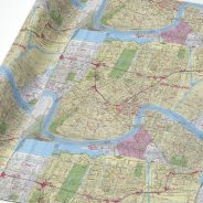 HD Decor Images » Old New Orleans Map Wrapping Paper   Zazzle Old Vintage Map of New Orleans Wrapping Paper