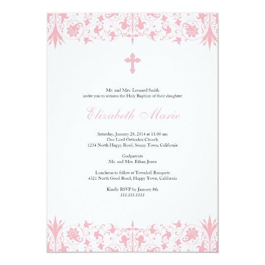 Boys Christening Invitations Cards