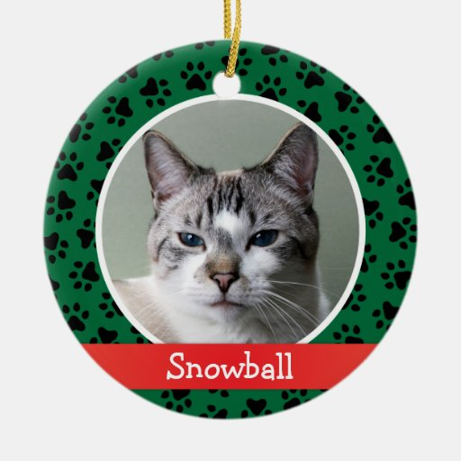 Personalized Cat Ornaments Christmas