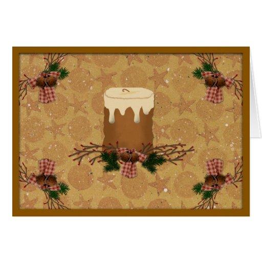 Primitive Christmas Cards