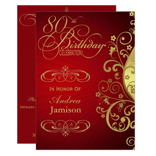 Save Date Cards Gold