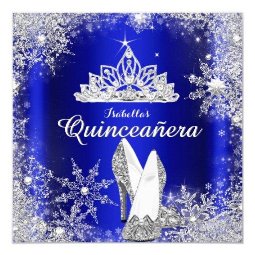 Custom Made Quinceanera Invitations