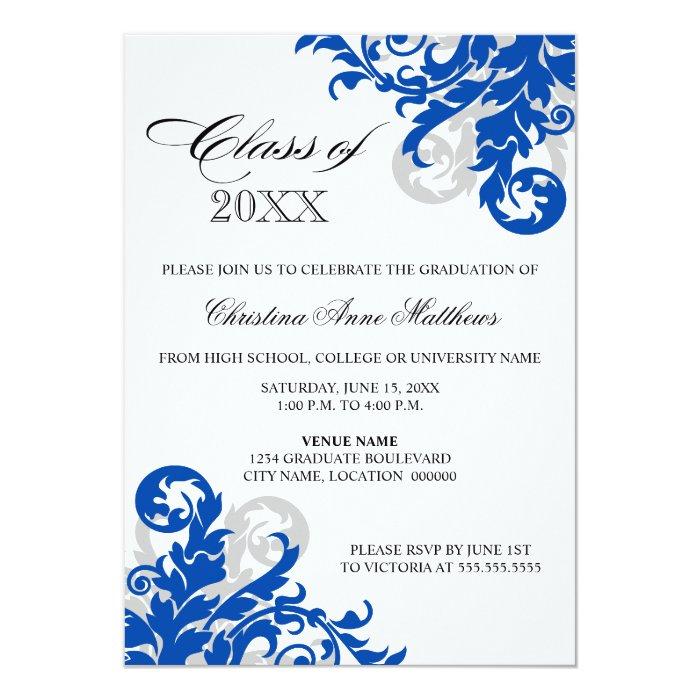 Custom Graduation Announcement Cards
