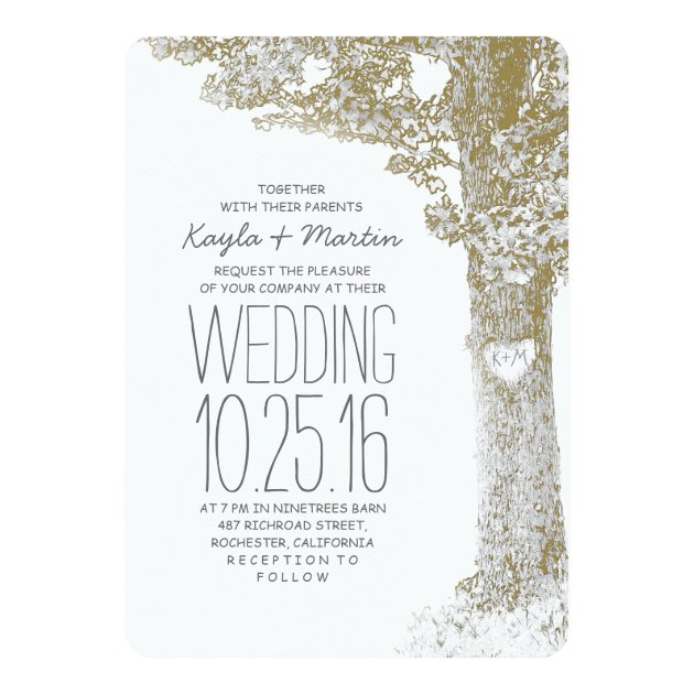 Create Your Own Rustic Wedding Invitations
