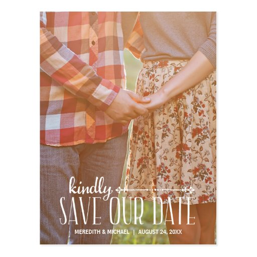 Make Your Own Save Date Postcards