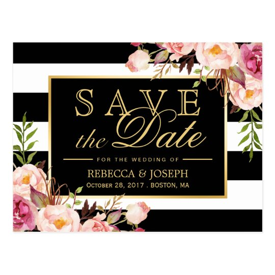Front And Back Save Date Cards