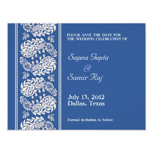 Custom Save Date Invitations
