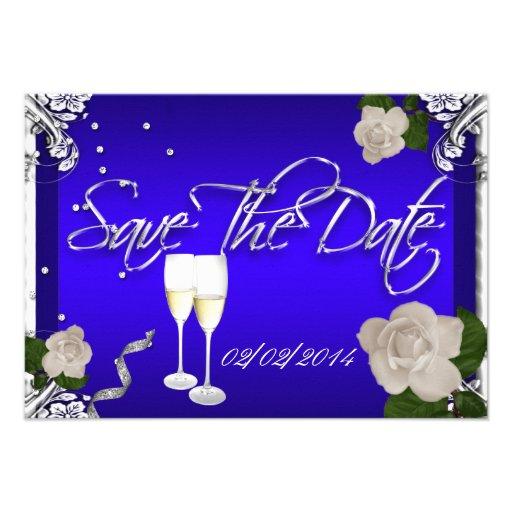 Save Date Anniversary Invitations
