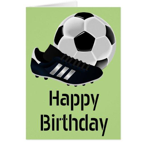 Football Themed Birthday Cards