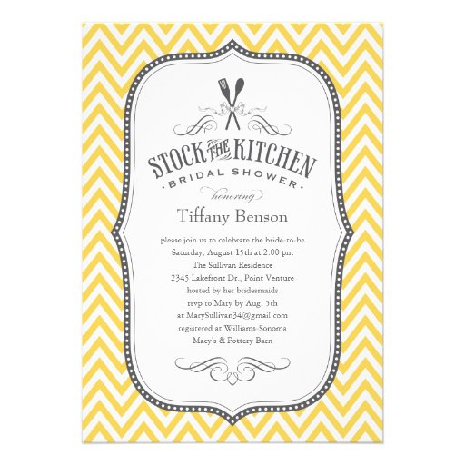Quick Bridal Shower Invitations