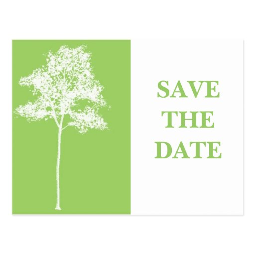 Customizable Save Date Announcement Postcards