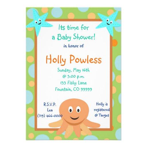 Baby Shower Invitations Honoring