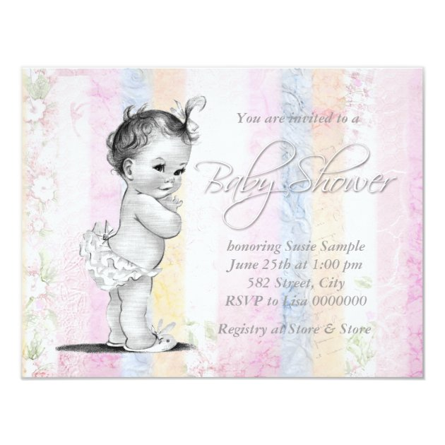 Baby Shower Invitations Baby Q
