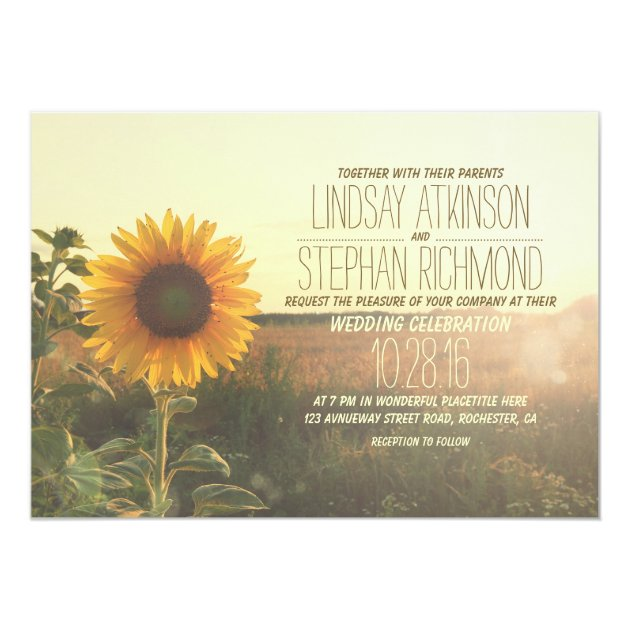 Sunflower Party Shower Bridal