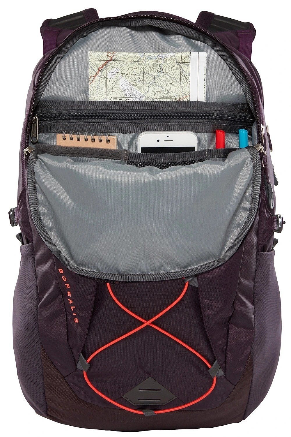 backpack The North Face Borealis 27 - Galaxy Purple/Juicy ...